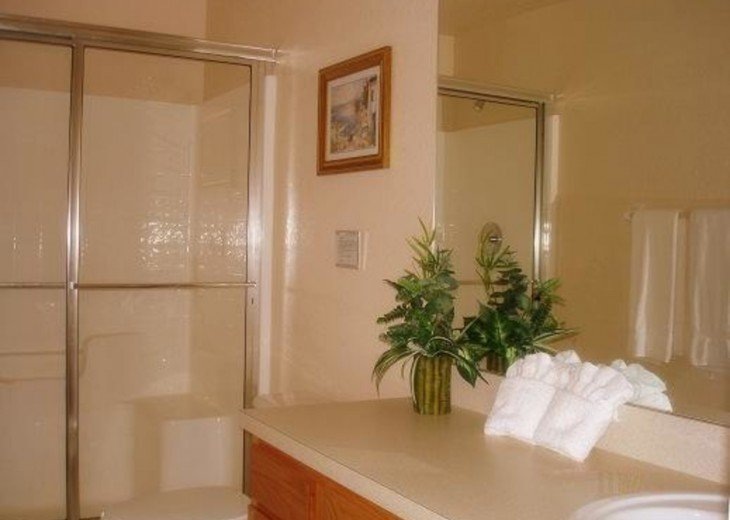 King Suite with walking shower