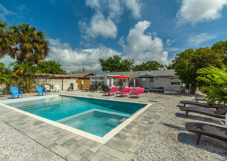 Sea Shell Beach Cottage - Private Pool #14