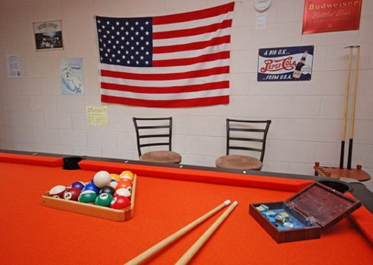 Your own Exclusive Pool table in the Games room