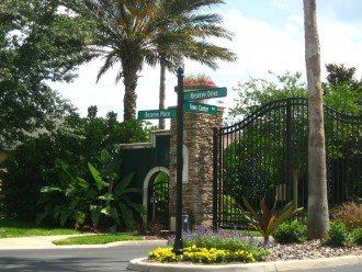 Town Center Entrance Gates and your Vacation Resort
