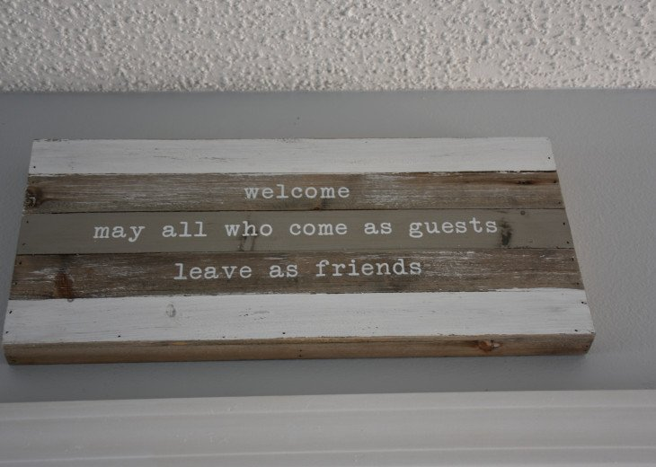 Our goal for our guests.