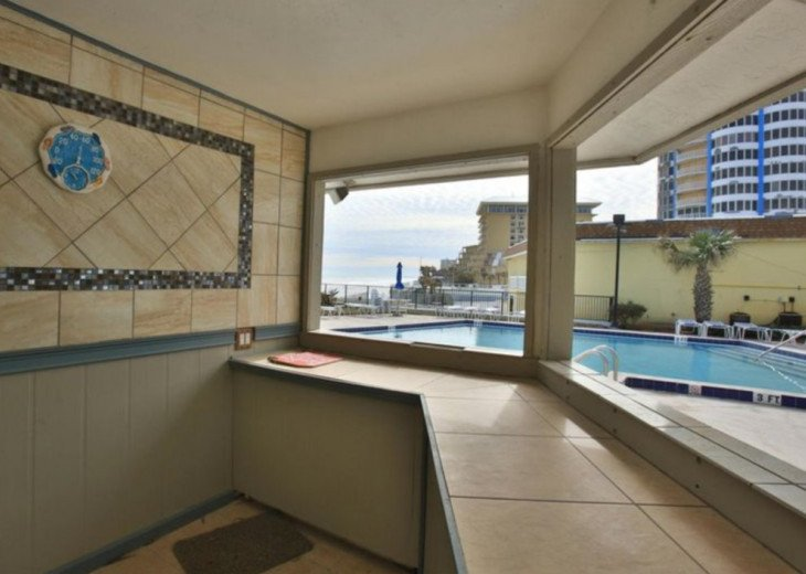 OCEANFRONT Condo Overlooking Pool and Beach- Sandpoint 1K Affordable Rates #20