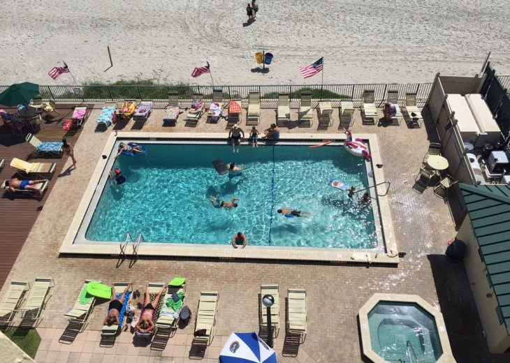 Oceanfront 2/2 Condo - Sunglow-At The Sunglow Pier #17