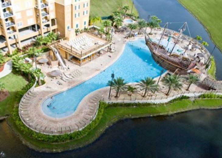 Luxury Resort Condo, 1 mile to Disney, Great for Families, Free Shuttle to Parks #19