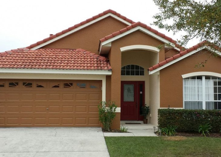 Disney/Orlando Vacation Rental - Beautiful 5 Bedroom bugalow pool Home #1