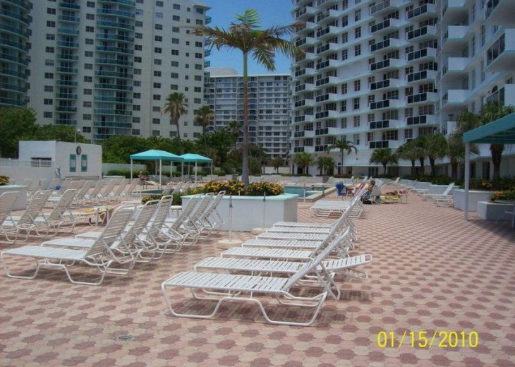Ocean Front Condo In Sea Air Towers Hollywood #13