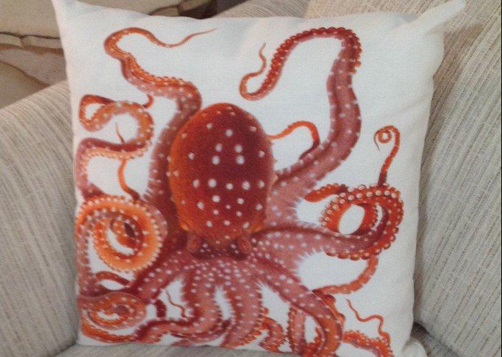 Fun Octopus Pillows
