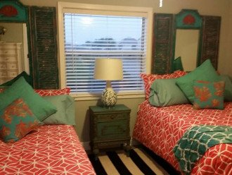 2 Full Size Beds in 2nd Bedroom