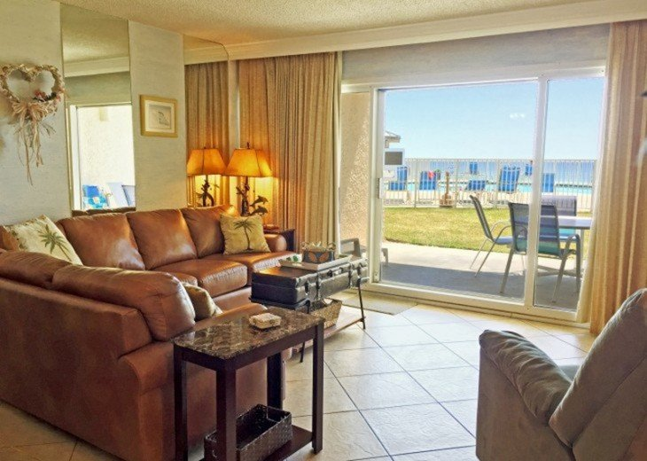 C104 Gorgeous Beach-Front Condo, located right on the gulf! #4