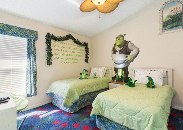 All ages will enjoy staying in Shrek's Kingdom