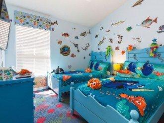 The little ones will love the Nemo & Dory Underwater Room