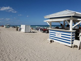 Rental Tiki Hut for Jet Ski's, Umbrella and Chairs