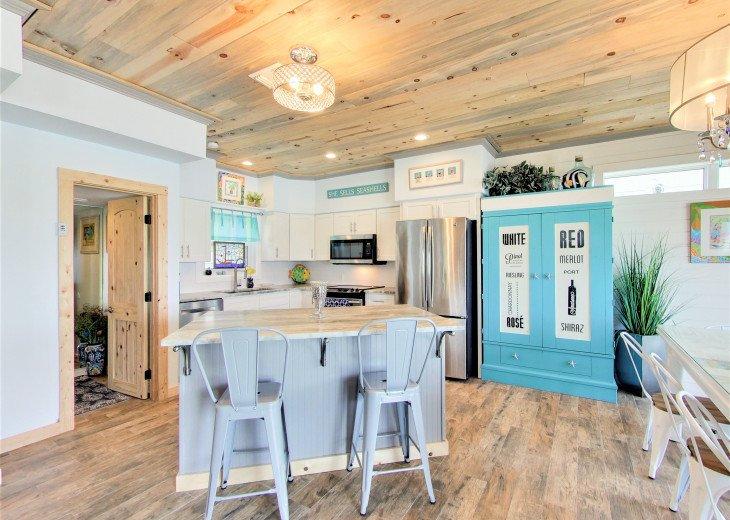 Gourmet Open Concept Kitchen