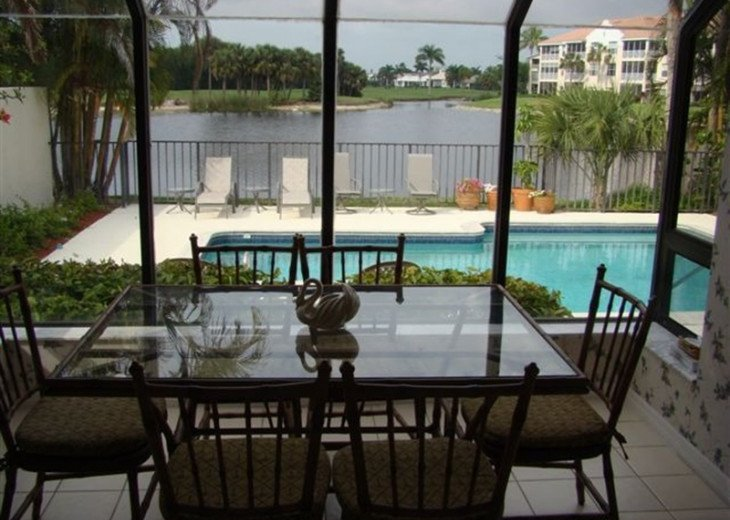 3 bedroom villa with private pool, overlooking golf course in Naples, Florida #4