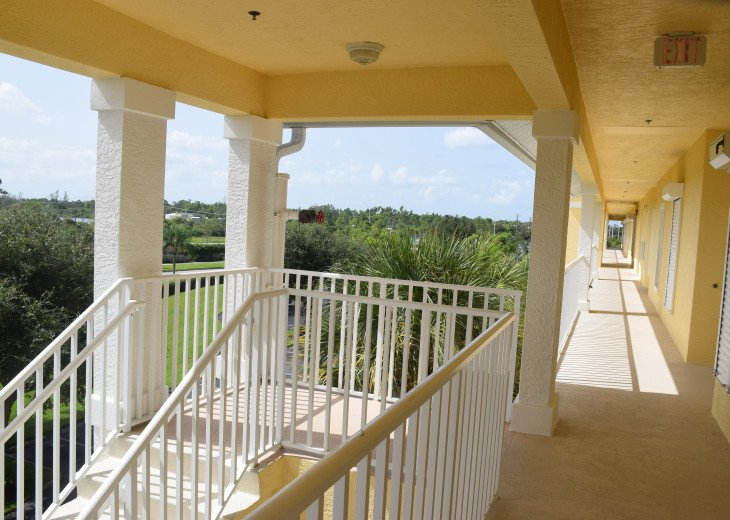 Vaulted Ceilings! Top Floor! End unit provides for more privacy! #35
