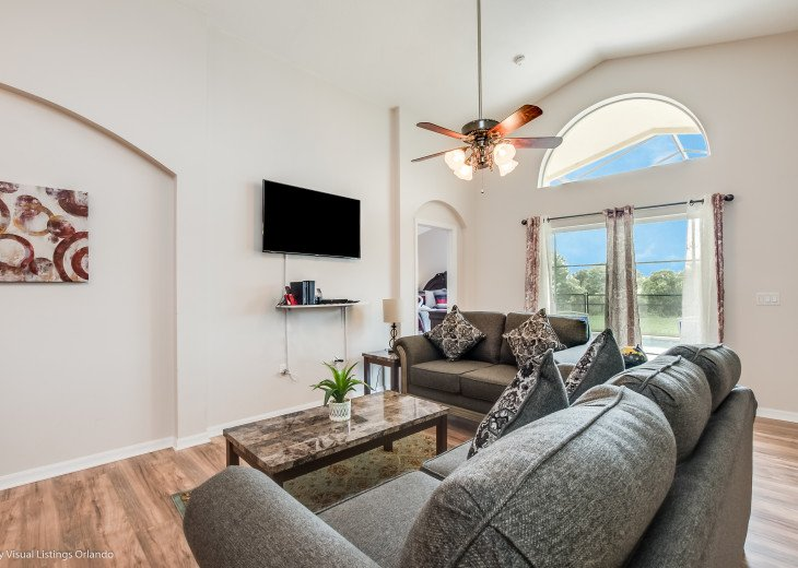 15% OFF 5 STAR VACATION RENTAL HOME ONLY 7 MILES TO DISNEY. GAME ROOM #11