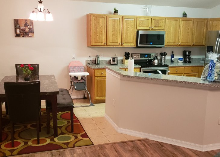 15% OFF 5 STAR VACATION RENTAL HOME ONLY 7 MILES TO DISNEY. GAME ROOM #23