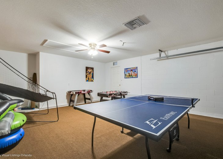 15% OFF 5 STAR VACATION RENTAL HOME ONLY 7 MILES TO DISNEY. GAME ROOM #54