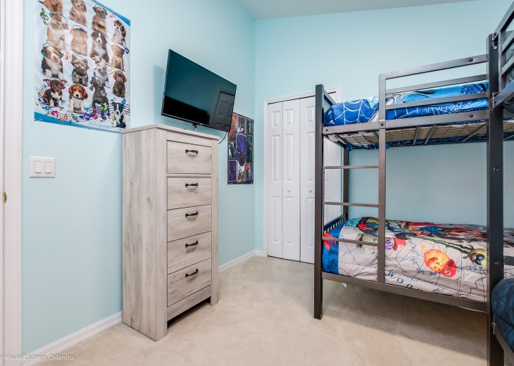 15% OFF 5 STAR VACATION RENTAL HOME ONLY 7 MILES TO DISNEY. GAME ROOM #37