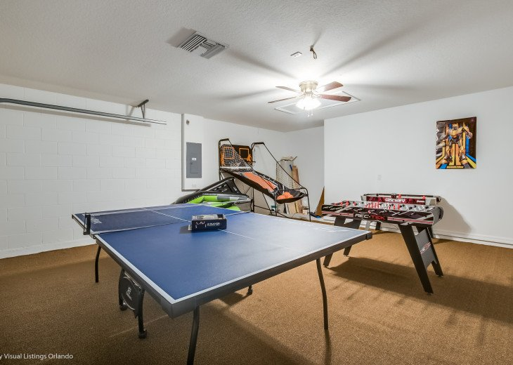 15% OFF 5 STAR VACATION RENTAL HOME ONLY 7 MILES TO DISNEY. GAME ROOM #55