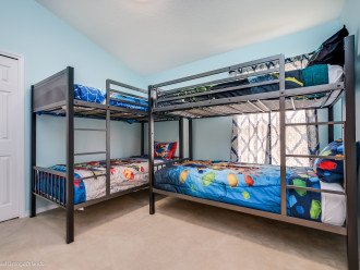Four brand new Bunk beds with new Mattresses