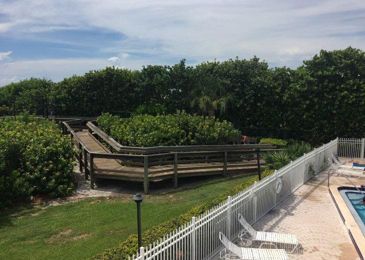 GATED PRIVATE BEACH ACCESS
