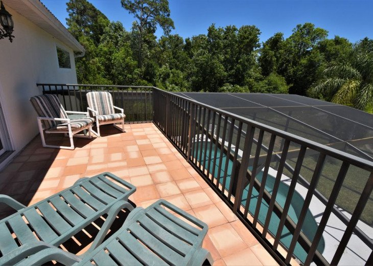 CARDINAL'S HIDEAWAY: 4 bed/4bath secluded lake view disney home #10