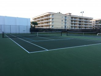 TENNIS COURTS AND RACQUETBALL COURTS