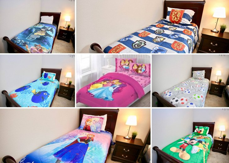 Customize your twin beds for the kids!