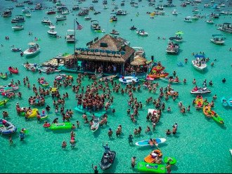 Don't miss out on a trip to Crab Island while you are in Destin!