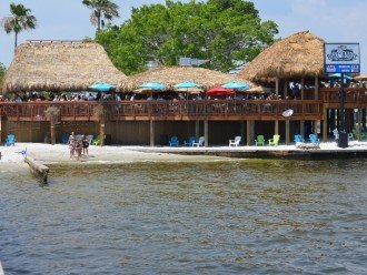 Cape Coral Beach, waterfront Restaurant