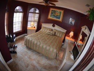 BEDROOM # 3 , 1 KING bed , Computer desk, printer,Safe, WIFI, LCD-TV