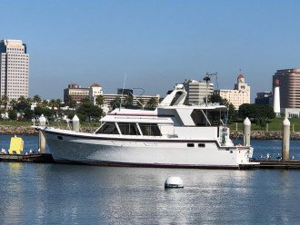 CHARTER OF PRIVATE 48 FOOT MOTOR YACHT, ASK FOR YACHT FLYER