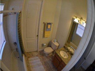 BATHROOM # 2 TUB & SHOWER, VANITIES.