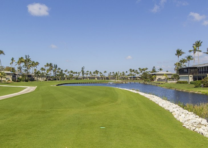 Beautiful, Bright and Clean Golf Course Condo with water feature view. #16