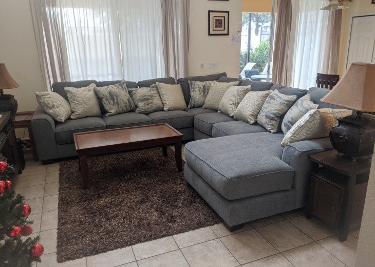 "Luxury Villa, 6 Bdrooms 6 Bth, Outdoor Kitchen, 65"" Poolside TV, Close to Disney #16"