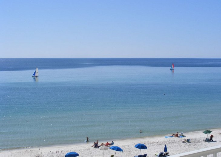 5th Floor Gulf Front--Turquoise Water & Sugar White Sand /FREE BEACH CHAIRS #17