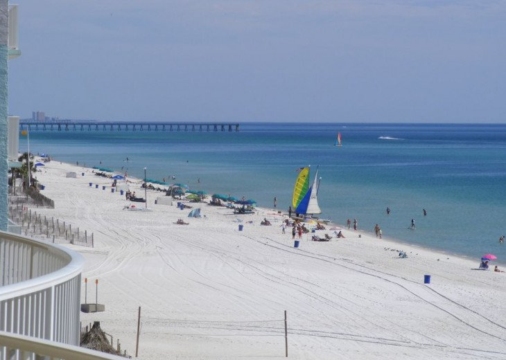 5th Floor Gulf Front--Turquoise Water & Sugar White Sand /FREE BEACH CHAIRS #12