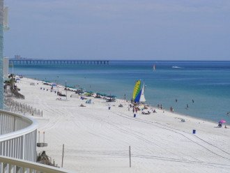 5th Floor Gulf Front--Turquoise Water & Sugar White Sand /FREE BEACH CHAIRS #1