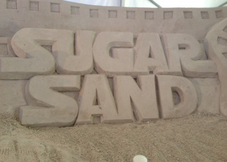 Sand sculpture Capital of Florida!