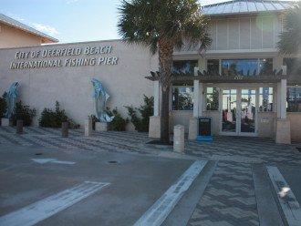 Ocean front restaurant at the Pier