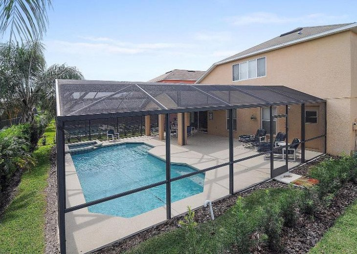 K&K Villa-Family Friendly, Cozy 5BR/4B home with private pool a close to parks #11