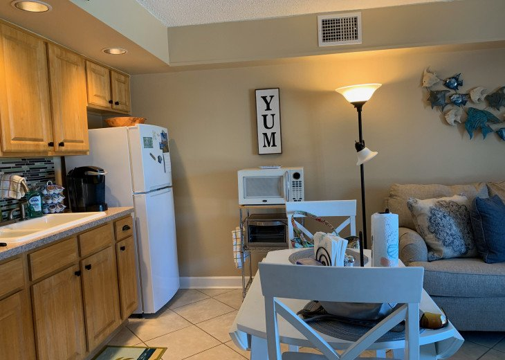 Across the street from the beach! Refurbished 2019. Parking space included. #6