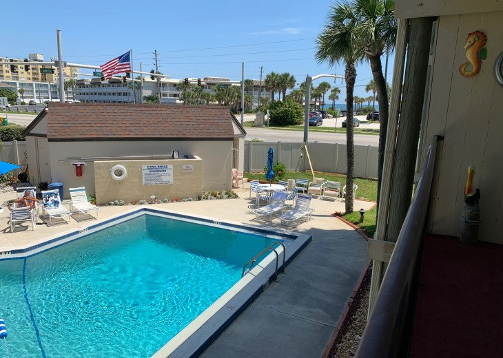 Across the street from the beach! Recently refurbished. Parking space included. #9