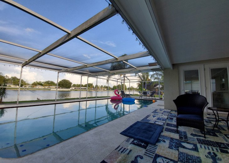 Near Beach Waterfront Pool Home Sleeps 12 Sale-$203 #42
