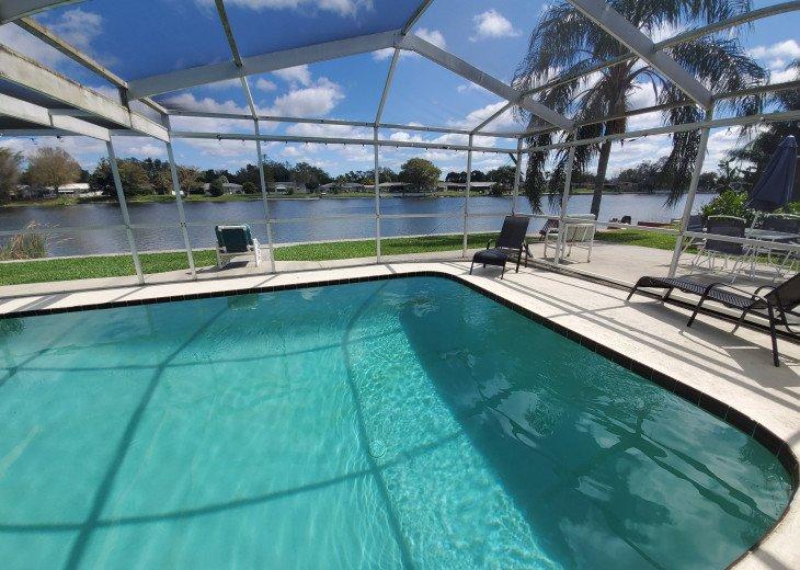 Near Beach Luxury Private Waterfront Pool Home Sleeps 12 #1