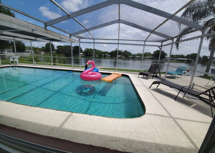 Near Beach Waterfront Pool Home Sleeps 12 Sale-$203 #2