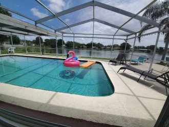 Near Beach Waterfront Pool Home Sleeps 12 Sale-$203 #1