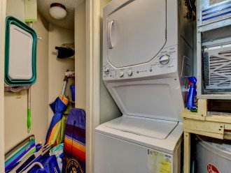 Laundry and beach items