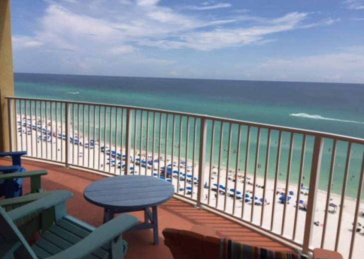 BEGIN YOUR DAY AT TWIN PALMS RESORT IN PANAMA CITY BEACH #16